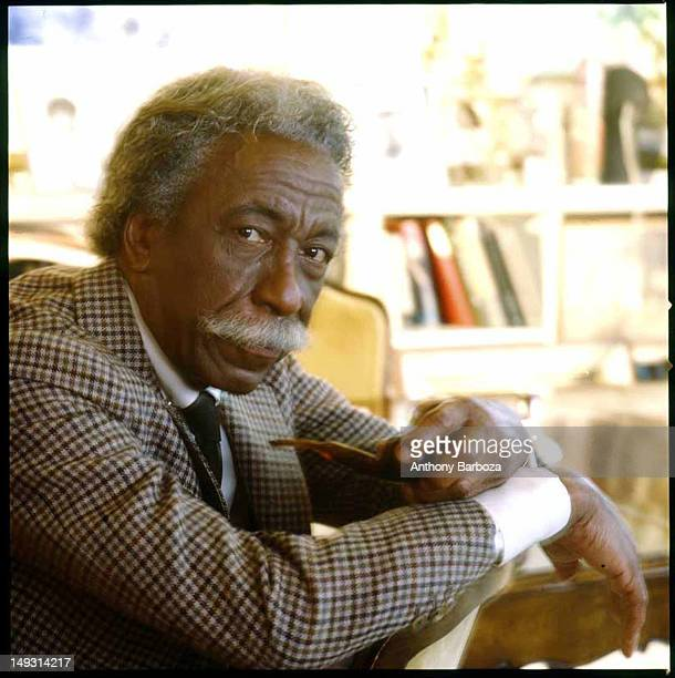 Portrait of American photographer Gordon Parks New York New York 1980s