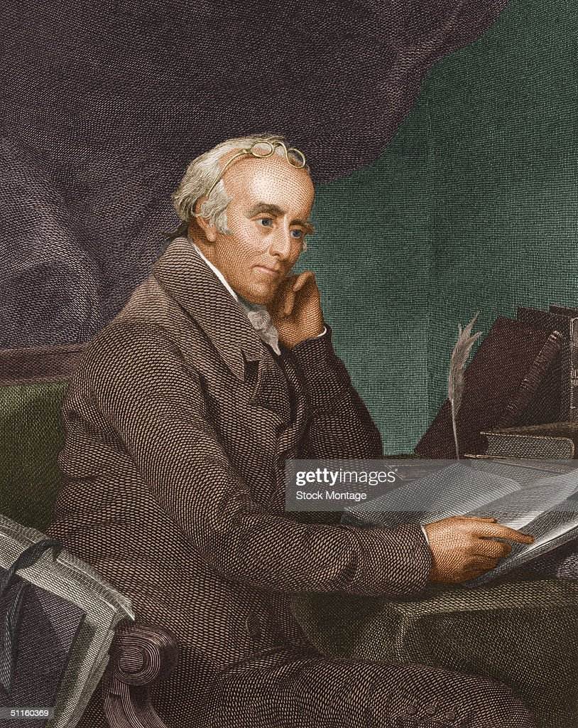 Portrait Of Benjamin Rush : News Photo