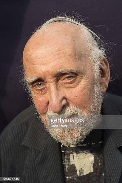 Portrait of American poet Jerome Rothenberg New York June 6 2016
