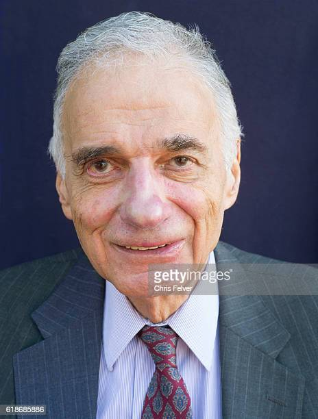 Portrait of American political and consumer activist author Ralph Nader at the City Lights Bookstore San Francisco California October 19 2016