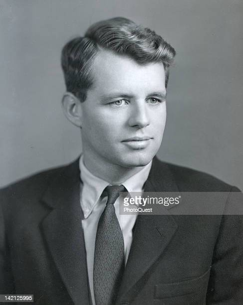 Portrait of American politician and US Attorney General Robert F Kennedy 1960