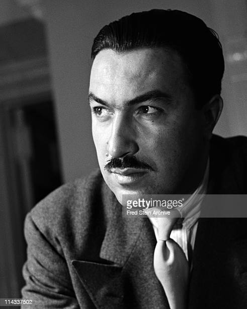 Portrait of American politician religious leader and social activist Adam Clayton Powell Jr 1946