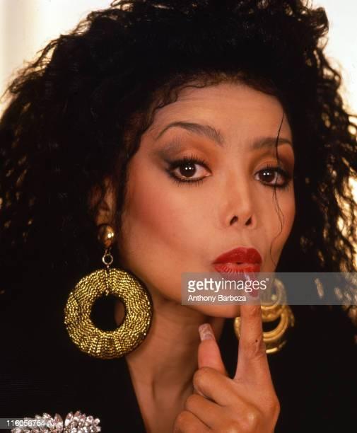 Portrait of American pop singer La Toya Jackson New York New York 1990s