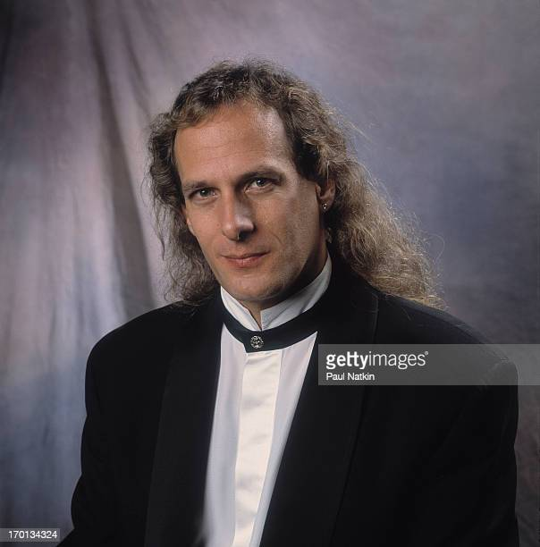 Portrait of American pop singer Michael Bolton prior to an appearance on the Oprah Winfrey Show, Chicago, Illinois, December 12, 1992.