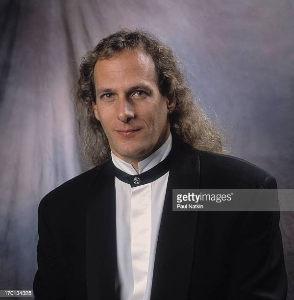 Portrait of American pop singer Michael Bolton prior to an appearance on the Oprah Winfrey Show Chicago Illinois December 12 1992