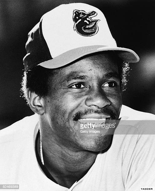 Portrait of American professional baseball player Al Bumbry of the American League's Baltimore Orioles 1975