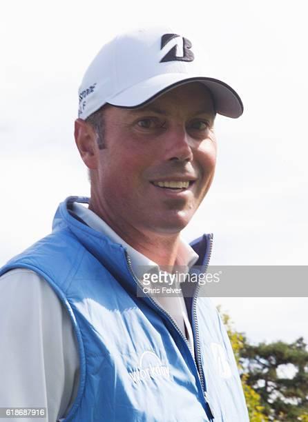 Portrait of American professional golfer Matt Kuchar during the Safeway Open Napa California October 12 2016