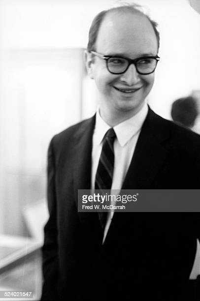 Portrait of American Pulitzer prizewinning cartoonist Jules Feiffer New York New York October 8 1963