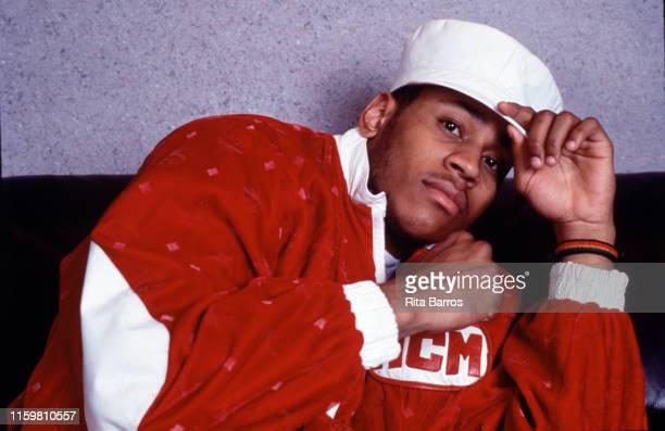 Portrait of American rapper LL Cool J New York 1988