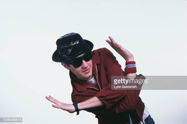 Portrait of American Rapper Mike D , of the group Beastie Boys, 1987.