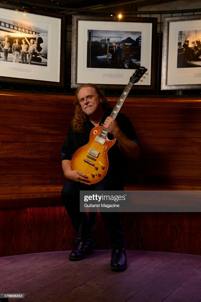 Portrait of American rock guitarist Warren Haynes photographed before a live performance with Gov't Mule at Under The Bridge in London, on July 4, 2013. Haynes is best known as a long-time member of The Allman Brothers Band, as well as a founding member of Gov't Mule.