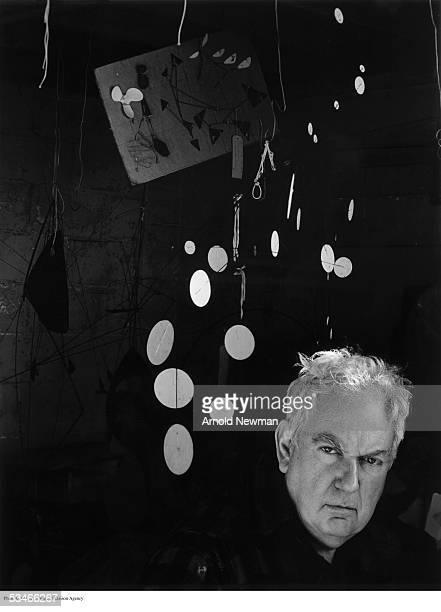 Portrait of American sculptor Alexander Calder January 3, 1957 in Woodbury, Connecticut.