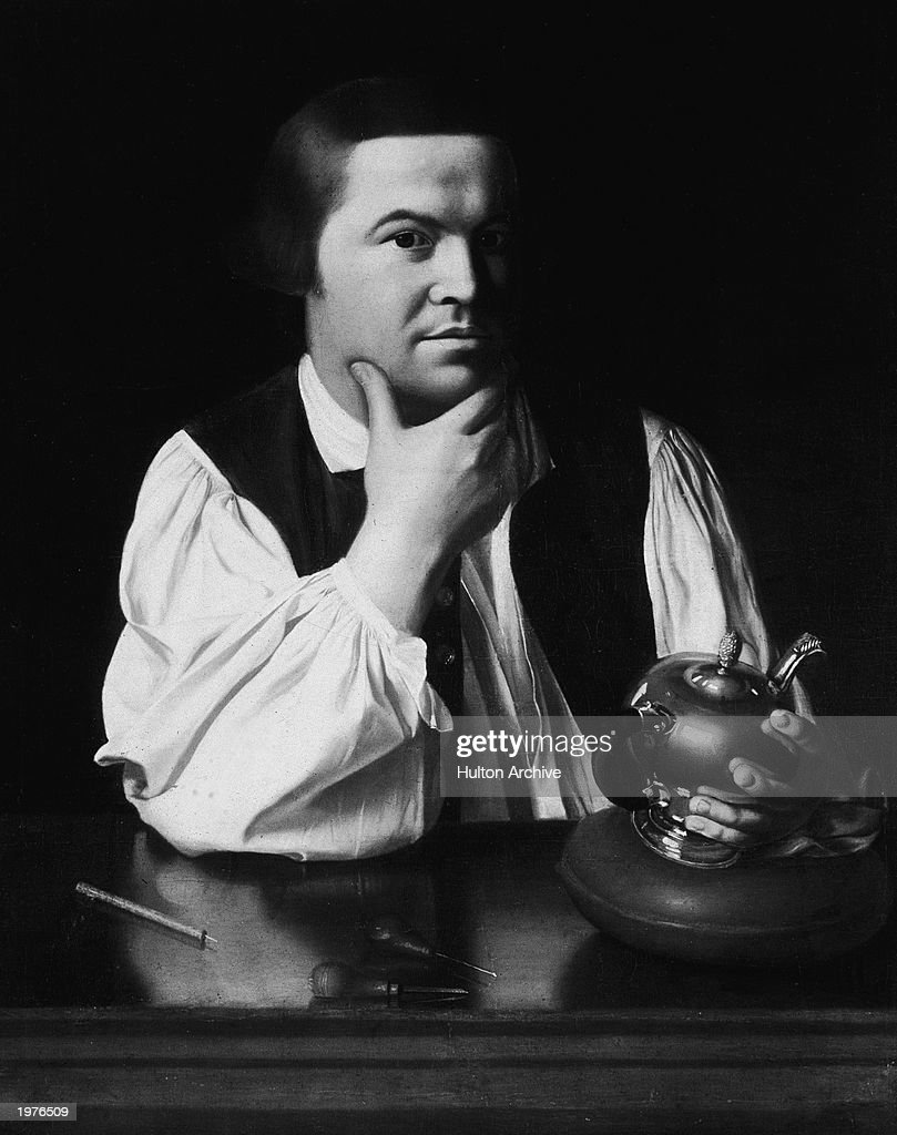 Paul Revere by J.Singleton Copley : News Photo