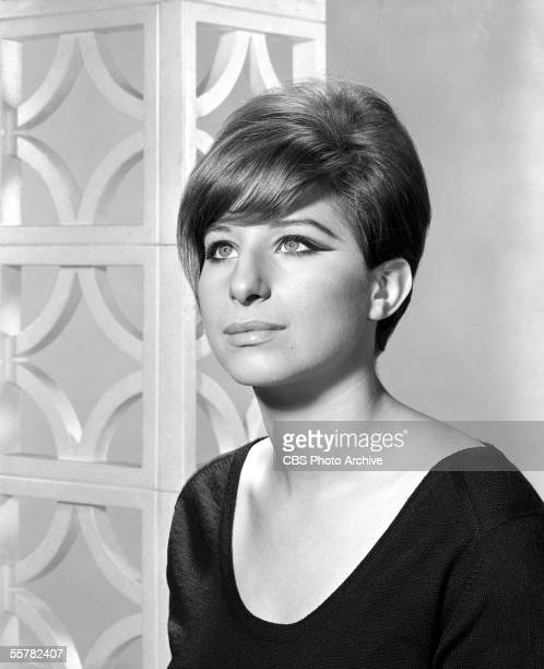 Portrait of American singer and actress Barbra Streisand with a beehive hairdo November 10 1964