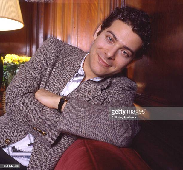 Portrait of American singer and musician Michael Finstein, 1990s.