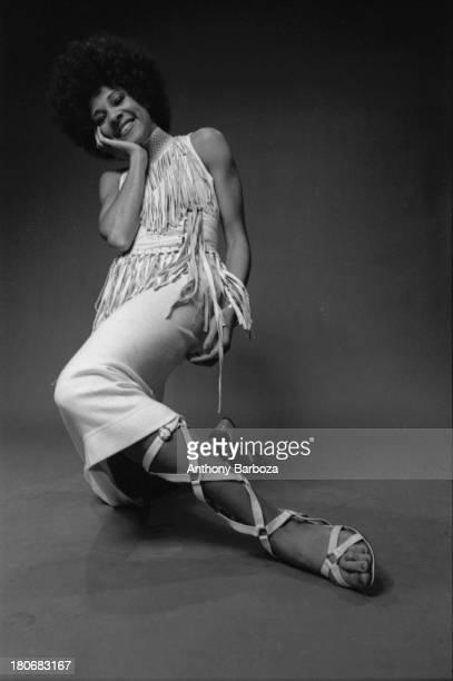Portrait of American singer Betty Davis 1969