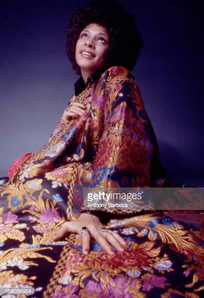 Portrait of American singer Betty Davis New York New York 1969