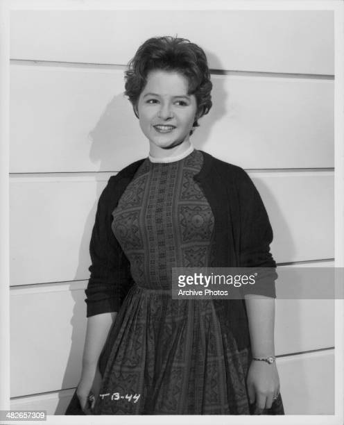 Portrait of American singer Brenda Lee circa 1960