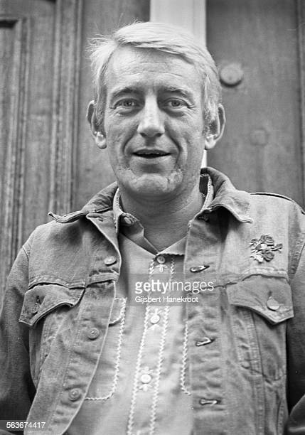 Portrait of American singer songwriter Rod McKuen Amsterdam Netherlands 1972