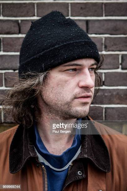 Portrait of American singersongwriter and guitarist Ryley Walker Netherlands Amsterdam 3th April 2018