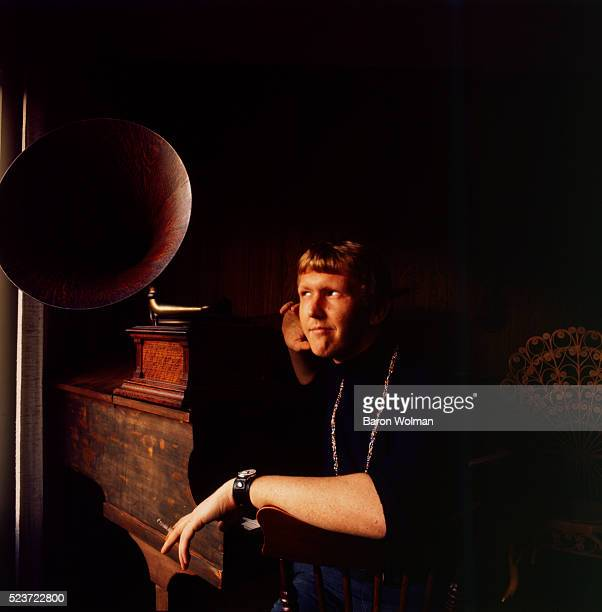 Portrait of American singersongwriter Harry Nilsson Los Angeles California 1970