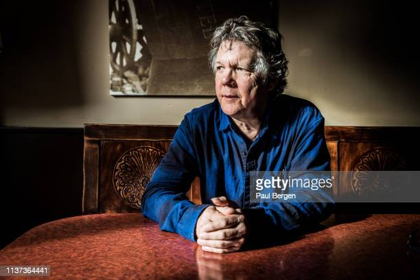 Portrait of American singer-songwriter Steve Forbert, Amsterdam, Netherlands, 12th February 2019.