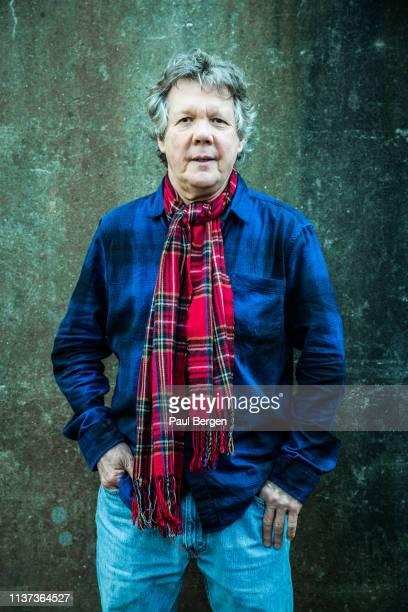 Portrait of American singer-songwriter Steve Forbert, Amsterdam, Netherlands, 12th February 2019.