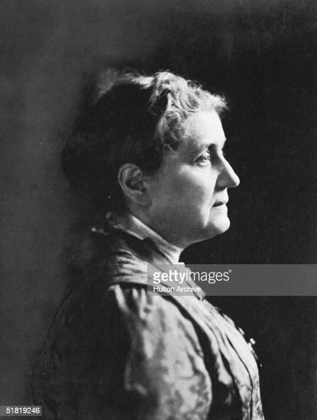 Portrait of American social worker Jane Addams early 1900s