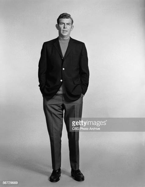 Portrait of American television actor Andy Griffith as he stands with his hands in pockets January 9 1969