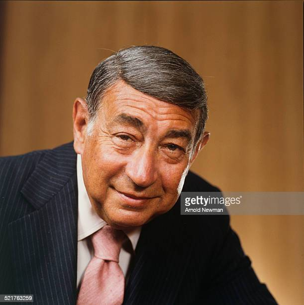 Portrait of American televison sports journalist Howard Cosell West Hampton New York July 16 1983