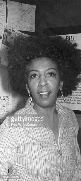 Portrait of American theatre director Ellen Stewart of La MaMa ETC New York New York January 2 1972
