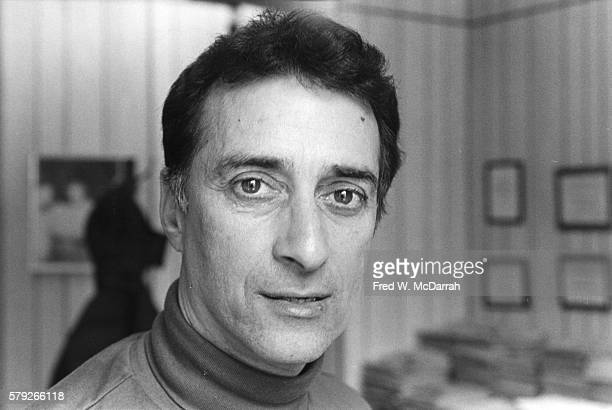 Portrait of American theatrical producer and Civil Rights activist David Rothenberg November 7 1984 He was the founder of the Fortune Society a...