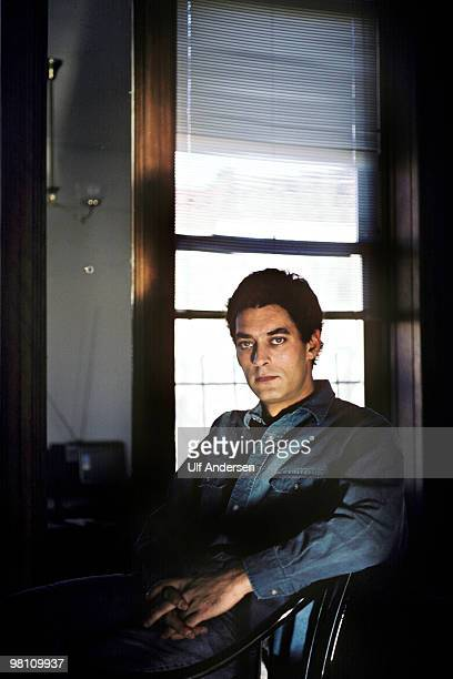 STATES JANUARY 08 A portrait of American writer Paul Auster on January 81988 at home in BrooklynNew York