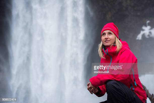 Portrait of an active woman in the outdoors