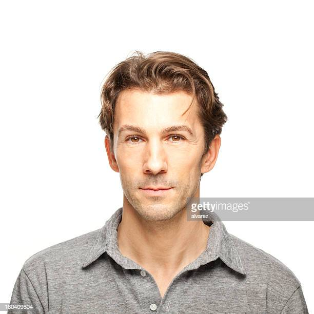portrait of an adult man - northern european descent stock pictures, royalty-free photos & images