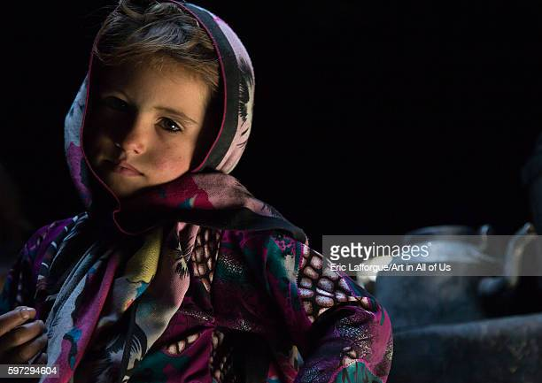Portrait of an afghan girl badakhshan province qazi deh Afghanistan on August 9 2016 in Qazi Deh Afghanistan