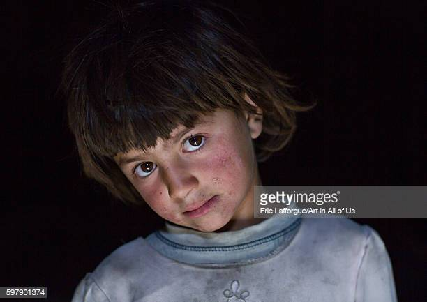 Portrait of an afghan girl from pamir badakhshan province qazi deh Afghanistan on August 14 2016 in Qazi Deh Afghanistan