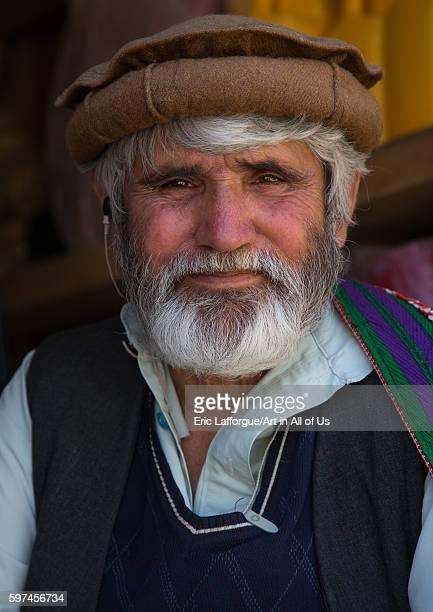 Portrait of an afghan man with a white beard badakhshan province ishkashim Afghanistan on August 9 2016 in Ishkashim Afghanistan
