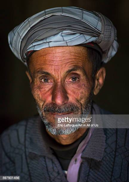 Portrait of an afghan old man badakhshan province zebak Afghanistan on August 15 2016 in Zebak Afghanistan