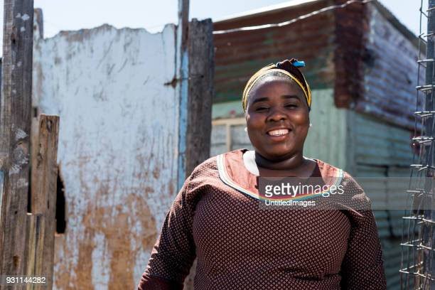 portrait of an african woman - south africa stock pictures, royalty-free photos & images