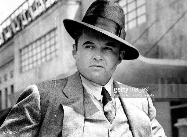 1959 A portrait of an American film actor Rod Steiger in a still from the film Al Capone'