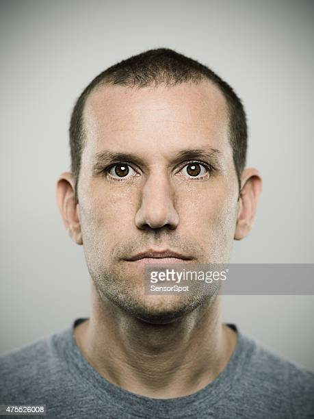 Portrait of an american real man