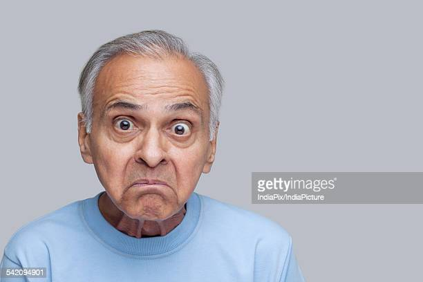 Angry Old Man Indian Stock Pictures Royalty Free Photos Images