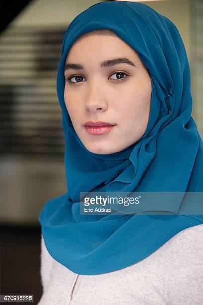 Portrait of an Arab businesswoman