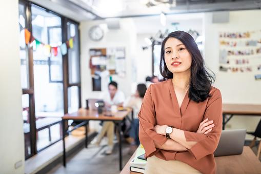 Portrait of an asian businesswoman. 1156987087