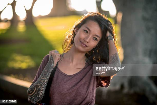 portrait of an asian woman - pretty vietnamese women stock pictures, royalty-free photos & images