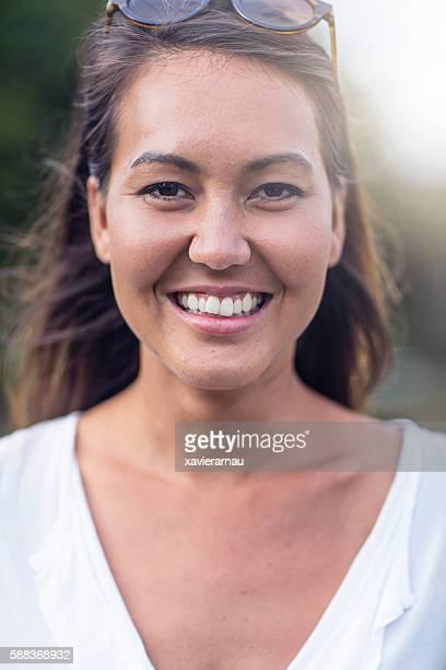 Portrait of an Australian mid adult woman