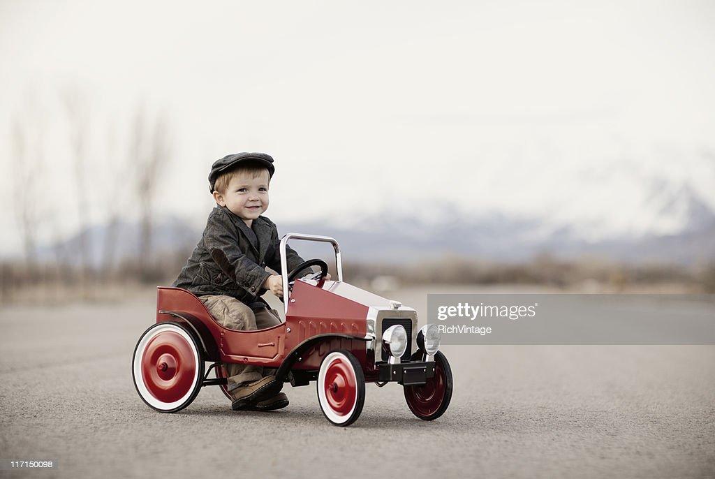 Portrait of an Auto Enthusiast : Stock Photo