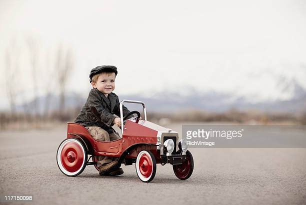 portrait of an auto enthusiast - 20th century stock photos and pictures
