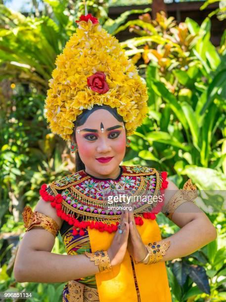 Portrait of an Balinese dancer